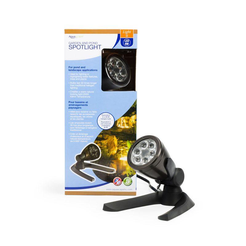 6 Watt LED spotlight