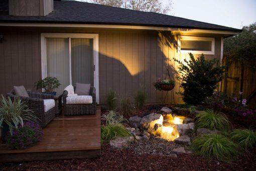 Backyard Waterfall Landscape Fountain Kit-image1