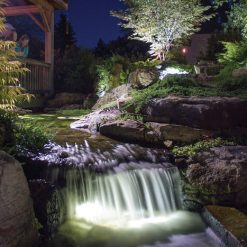 Garden and Pond 1-Watt LED Waterfall and Up Light