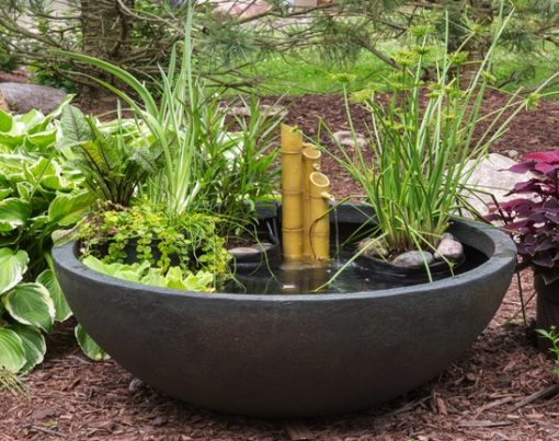 Green Slate Patio Pond