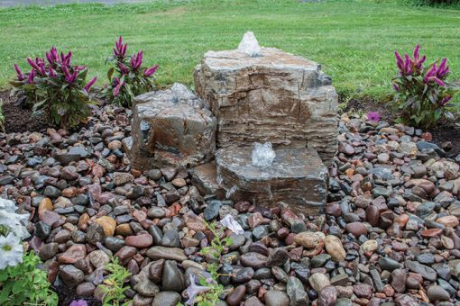 Pagoda Rocks (Set of 3) Landscape Fountain Kit