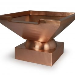 Square Copper Spillway Bowl