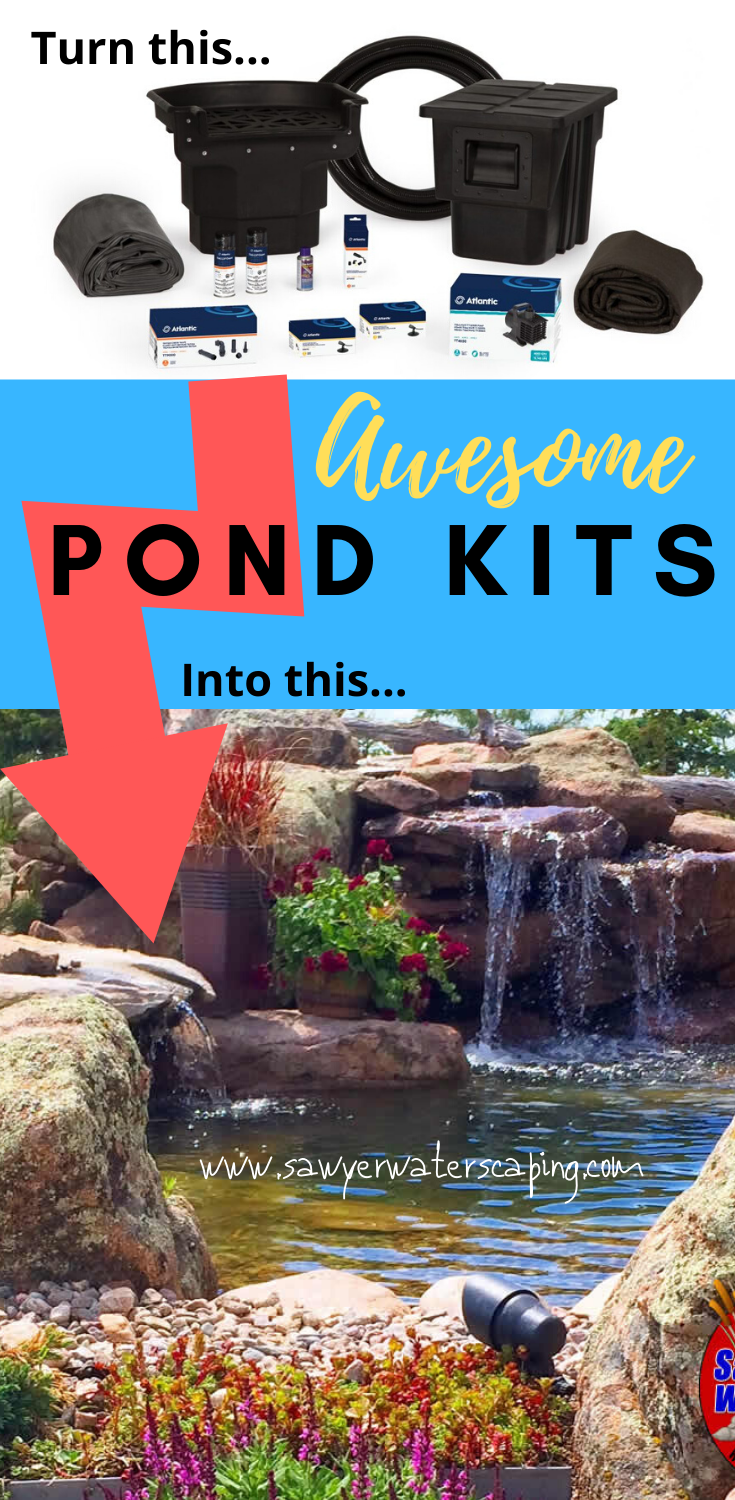 DIY Pondless Waterfalls