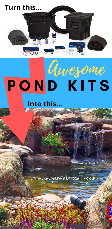 DIY Pondless Waterfalls